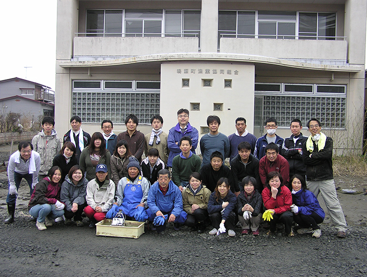 Tohoku disaster-hit area volunteer activities